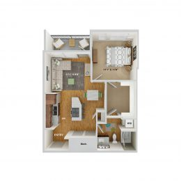 Bell Cherry Hills A1A floor plan