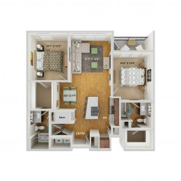 Bell Cherry Hills B2A Floor Plan