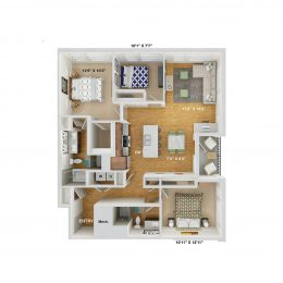 Bell Cherry Hills C2A floor plan